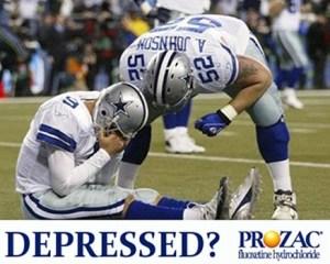 NFL DEPRESSED